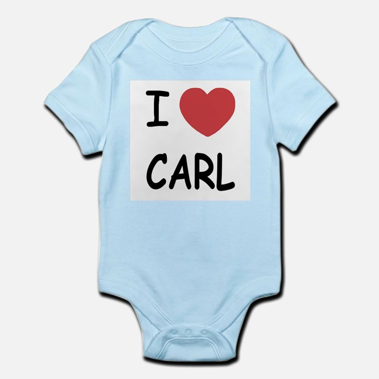 I heart carl Infant Bodysuit
