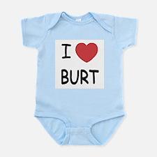 I heart burt Infant Bodysuit