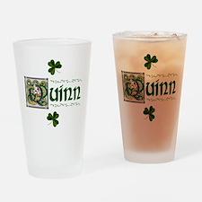 Quinn Celtic Dragon Pint Glass