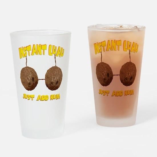 Instant Luau Pint Glass