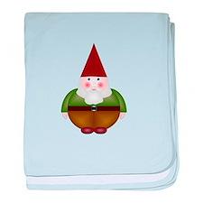 Mister Gnome baby blanket