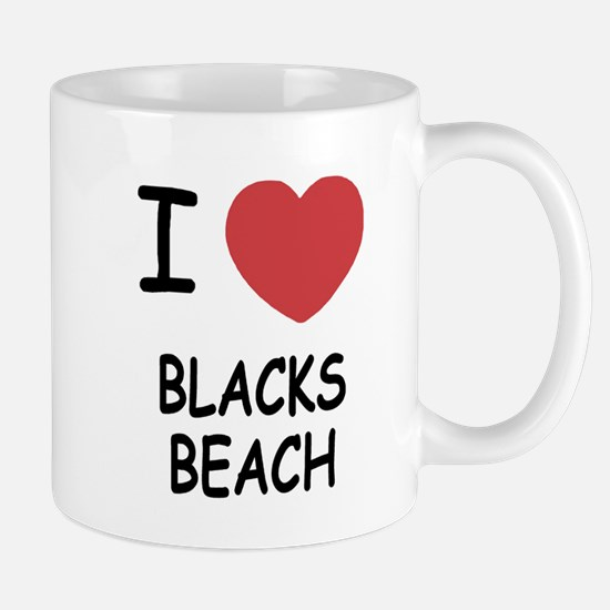 I heart blacks beach Mug