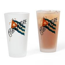 Cuba Libre Cuban Flag Pint Glass