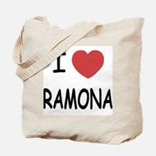 I heart ramona Tote Bag