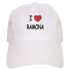 I heart ramona Baseball Cap