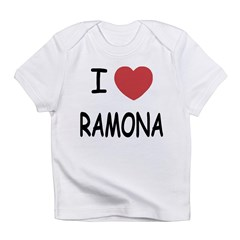 I heart ramona Infant T-Shirt
