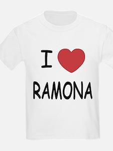 I heart ramona T-Shirt