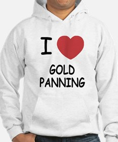 I heart gold panning Hoodie
