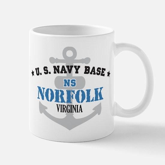 US Navy Norfolk Base Mug