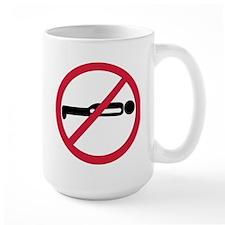 No Planking Mug