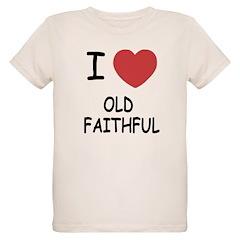 I heart old faithful T-Shirt