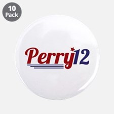 """Rick Perry '12 3.5"""" Button (10 pack)"""