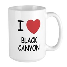 I heart black canyon Mug