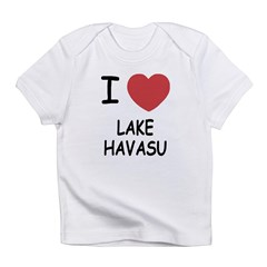 I heart lake havasu Infant T-Shirt