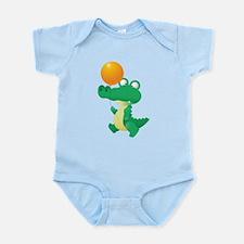 crocodile Infant Bodysuit