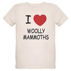 I heart woolly mammoths T-Shirt