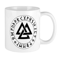 Triple Triangle Rune Shield Mug
