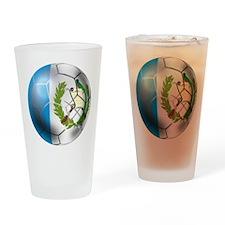 Guatemala Football Drinking Glass