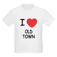 I heart old town T-Shirt