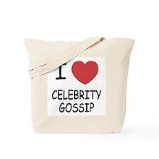I heart celebrity gossip Tote Bag