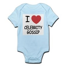 I heart celebrity gossip Infant Bodysuit