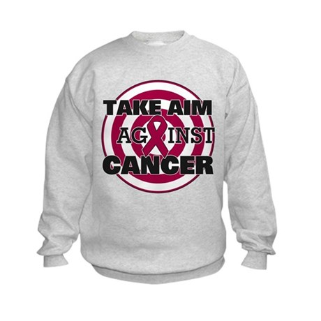 Take Aim - Multiple Myeloma Kids Sweatshirt