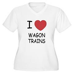 I heart wagon trains T-Shirt