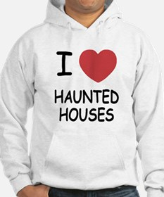 I heart haunted houses Jumper Hoodie
