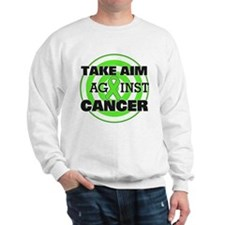 Take Aim - Lymphoma Sweatshirt