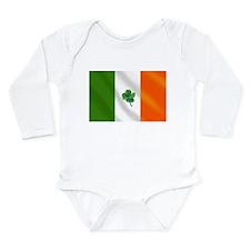 Irish Flag Long Sleeve Infant Bodysuit