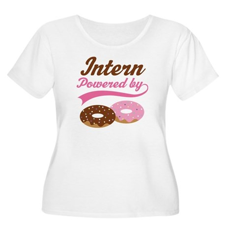 Intern Gift Women's Plus Size Scoop Neck T-Shirt