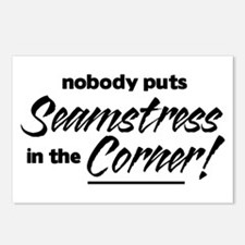 Seamstress Nobody Corner Postcards (Package of 8)
