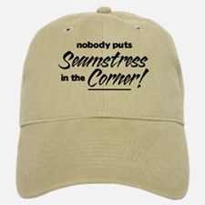 Seamstress Nobody Corner Baseball Baseball Cap