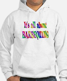 About Barbequing Hoodie
