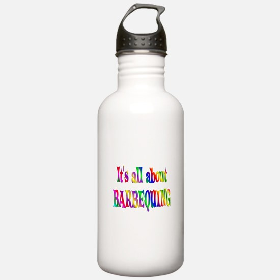 About Barbequing Water Bottle