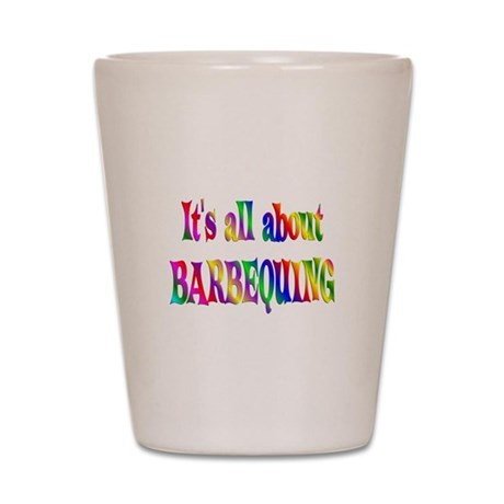 About Barbequing Shot Glass