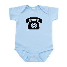 Telephone Infant Bodysuit