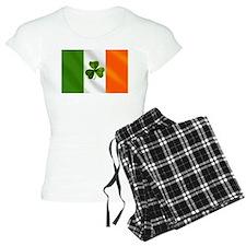 Irish Shamrock Flag Pajamas