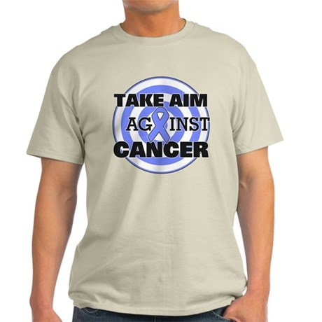 Take Aim - Esophageal Cancer Light T-Shirt