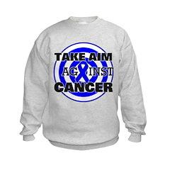 Take Aim - Colon Cancer Sweatshirt