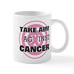 Take Aim - Breast Cancer Mug