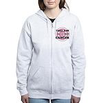 Take Aim - Breast Cancer Women's Zip Hoodie