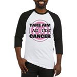 Take Aim - Breast Cancer Baseball Jersey