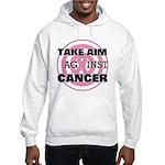 Take Aim - Breast Cancer Hooded Sweatshirt