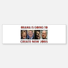 WHAT A JOKE Bumper Bumper Sticker