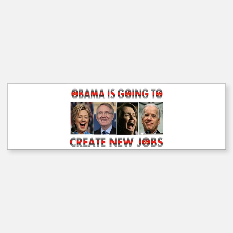 WHAT A JOKE Bumper Stickers