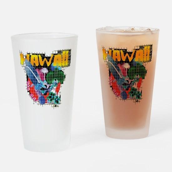 Hawaii Graphic Drinking Glass