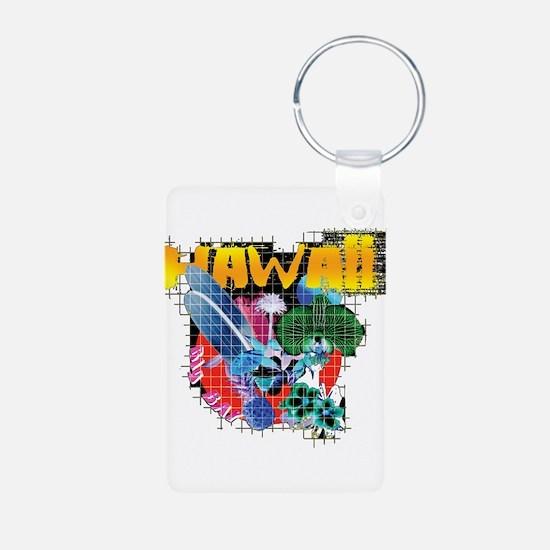 Hawaii Graphic Keychains