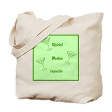 Official Martini Inspector Tote Bag