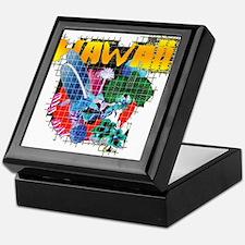 Hawaii Graphic Keepsake Box